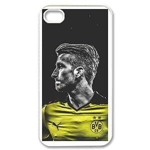 IPhone 4,4S Phone Case for Classic theme Borussia Dortmund BVB 09 Logo pattern design GCTBDBVB839675