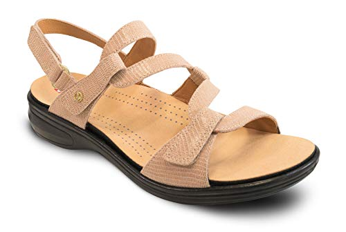 Revere Woman 34MIAM Biscuit Leather 7 Medium (B) - Leather Biscuit
