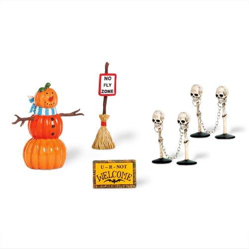 (Dept 56 - Halloween Village - Halloween Decorating Set by Department 56 -)