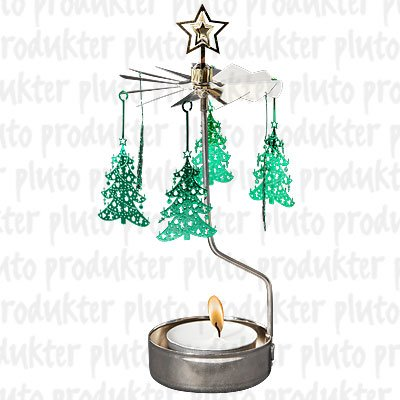 Christmas Tree Rotary Candleholder by Pluto Produkter