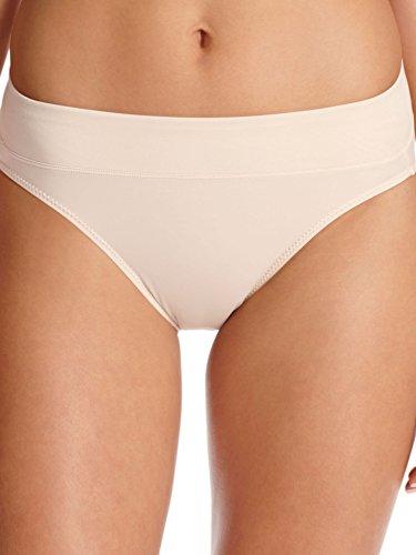 Warner's #5138 No Pinch No Problem Hi Cut Panties SAND Lg
