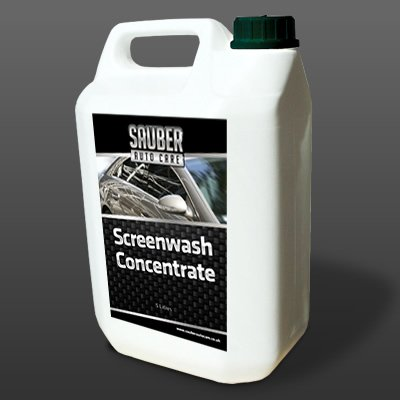 Sauber Screenwash Concentrate - 10 litre - Car and Vehicle Screen and Window Cleaner