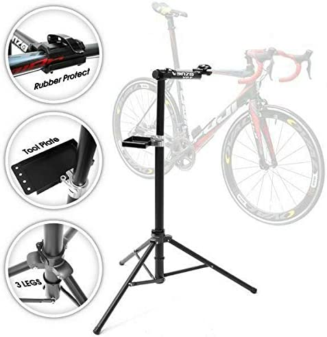 VENZO Full Aluminium Alloy Workstand Bike Bicycle Repair Stand by Venzo: Amazon.es: Deportes y aire libre
