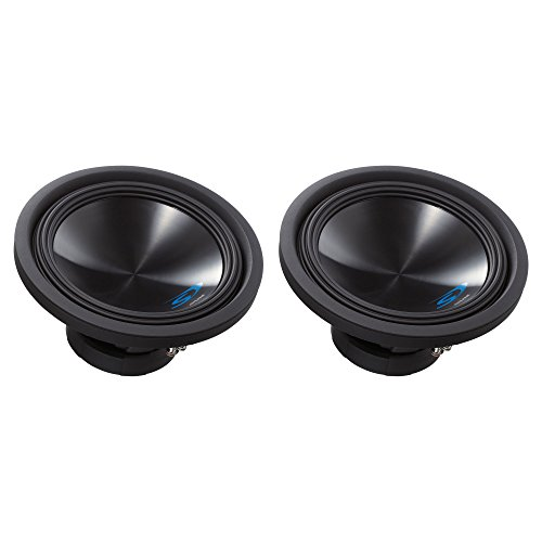 Alpine Type S SWS-12D4 12 Inch 1500W 4 Ohm Round Car Audio Subwoofer (2 Pack)