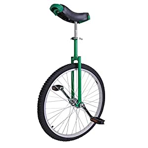 """AW 24"""" Inch Wheel Unicycle Leakproof Butyl Tire Wheel Cycling Outdoor Sports Fitness Exercise Health Green"""