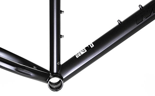 "19"" MARIN HAMILTON 29ER Urban Single Speed Fixed Gear Bike Frame CrMo Black NEW"