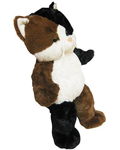 We stuff em...you love em Bear Factory Cuddly Soft 16 inch Stuffed Calico Kitty Cat