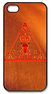 LZHCASE Personalized Protective Case for iPhone 5 - Hitman Agency Logo