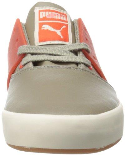 Puma Uomo El Asso 3 Lana Sneaker Roccia Caduta / Pomodoro Ciliegino