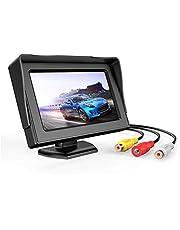 3T6B 4,3-calowa kamera cofania z ekranem LCD, kamera cofania z monitorem, wodoodporna, do samochodów ciężarowych SUV