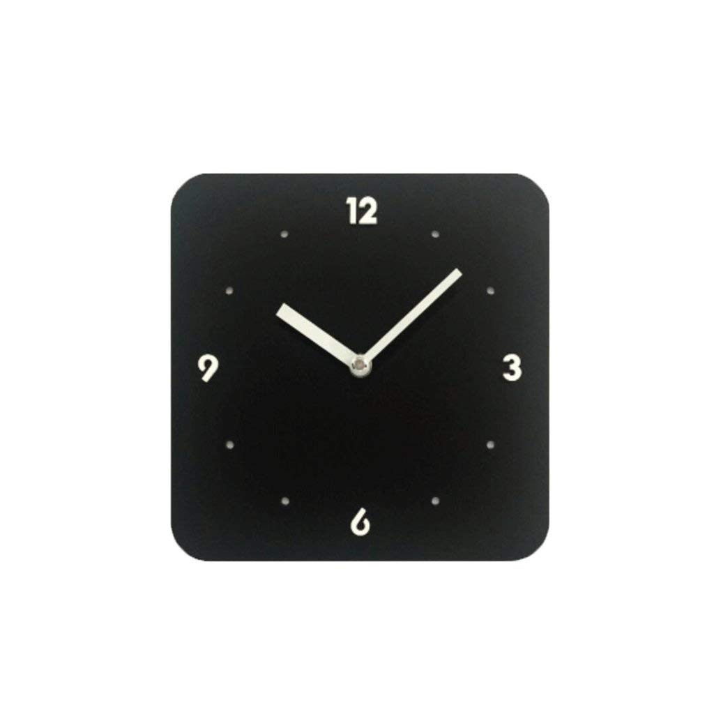 YHEGV Personality of Yellow Color Lounge Room Wall Clock establishes Children Crib BlackBerry Know (Color: (b)