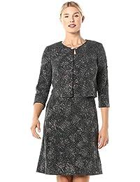 Women's Short Glitter Knit Jacket Dress