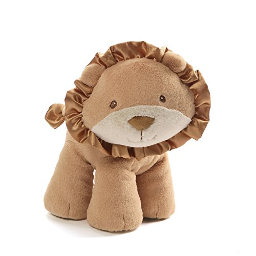 Gund Jungle - Baby GUND Leo Lion Stuffed Animal Plush, Brown, 10