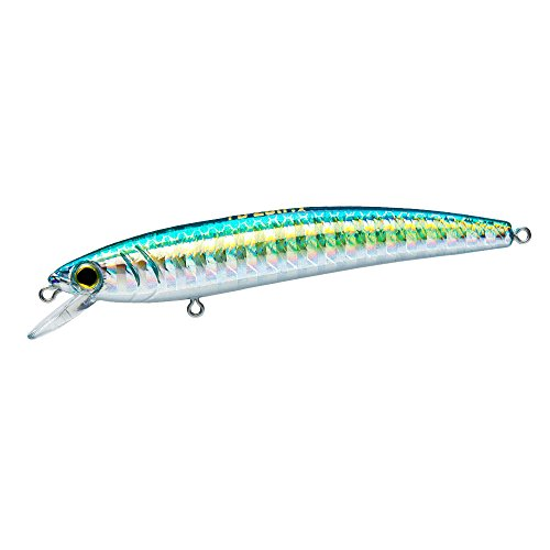 Yo-Zuri F1163-M176 Pins Minnow Floating Diver Lure, Green Gold
