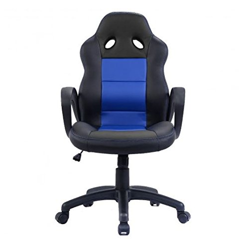 41tNg5bYqOL - MD-Group-Gaming-Chair-High-Back-Race-Car-Style-Blue-Elegant-Comfortable-Pneumatic-Height-Adjustable