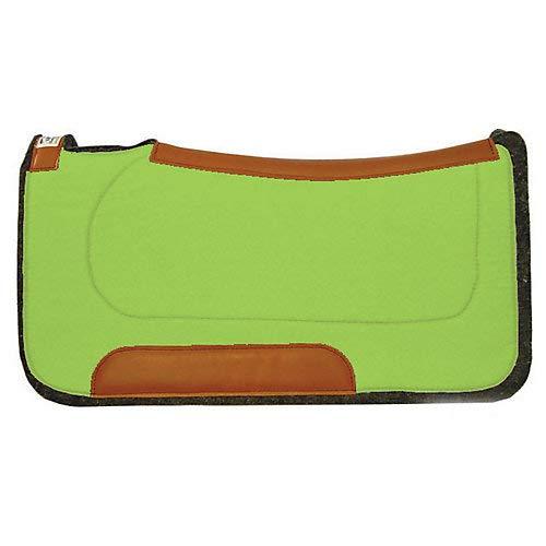 (Diamond Wool Contoured Ranch Pad 32X32 Lime Green)