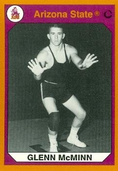 Glenn McMinn Wrestling Card (Arizona State) 1990 Collegiate Collection #190 from Autograph Warehouse