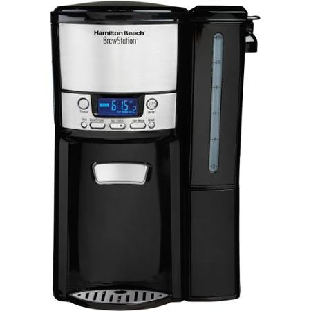 Hamilton Beach BrewStation 12-Cup Dispensing Coffeemaker with Removable Water Reservoir, ()