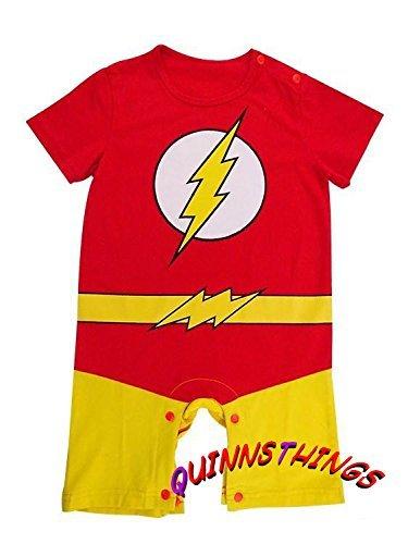 Traje infantil inspirado en Flash. 6-9 meses: Amazon.es: Bebé