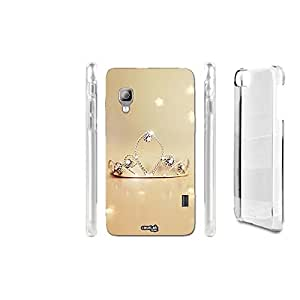 FUNDA CARCASA CROWN LUCI PARA LG OPTIMUS L5 II E460