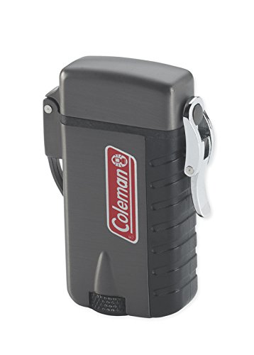 Coleman-Refillable-Windproof-Butane-Lighter-for-Outdoors-Gun-Metal