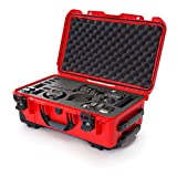 Nanuk 935 Waterproof Carry-on Hard Case with Foam Insert for Canon, Nikon - 2 DSLR Body and Lens/Lenses - Red (935-EDSLR9)