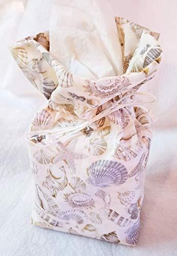 (Seashell Tissue Box Cover)