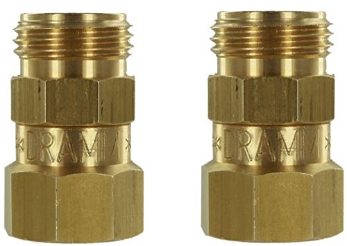 Dramm Brass Garden Hose Swivel - Pack of 2 ()