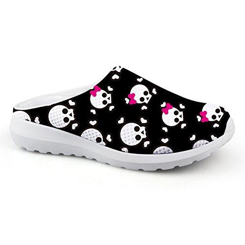 Bigcardesigns Casual Respirant Chaussures De Plage En Plein Air Sandales Appartements Femmes Slip-on Chaussure 36