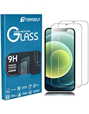 TERSELY [2 Pack] Screen Protector for iPhone 12 Mini, 9H Hardness Case Friendly Tempered Glass Screen Protectors Anti-Scratch Film Guard for Apple iPhone 12 Mini(5.4 inch)