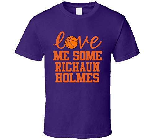 Richaun Holmes Love Me Some Phoenix Basketball Fan T Shirt XL Purple