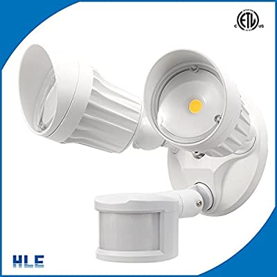 2 Head Led Flood Light Street lighting and Area lighting 6000K 20W 1300-1500 Lumens