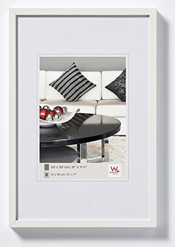 walther design Photo Frame, White, 42 x 59, 4 cm (Din A2)