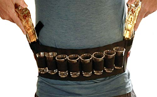 ShotsClub Gun Decanter with Shot Glasses - Ultimate Adult Party Accessories Includes 2 Gun Liquor Decanters, 8 Shots Glasses, and Carrying Case by ShotsClub (Image #3)