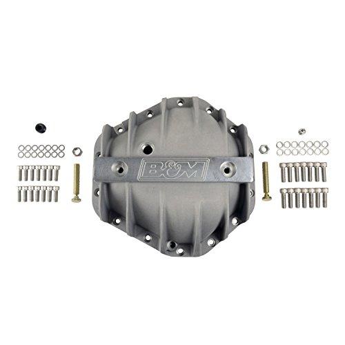 "B&M (70501) 10.5"" Cast Aluminum 14-Bolt Rear End Differential Cover"