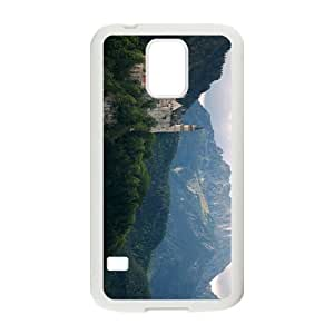 White Castle Hight Quality Case for Samsung Galaxy S5