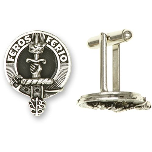 Pair Over Scottish Cufflinks Of Innes 100 Available Crests In Clan Crest 0CR607xrqw