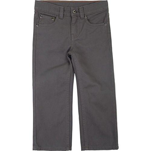 Lee Little Boys' Premium Select Sure-2-Fit Straight Leg Pants (5, Smog - Premium Outlets Lee