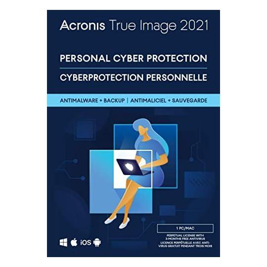 Acronis True Image 2021 1 PC/Mac Perpetual License Box Version