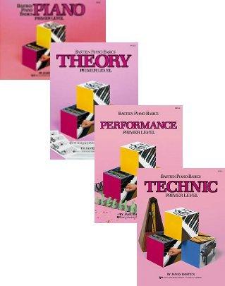Bastien Piano Basics Technic Books - 8
