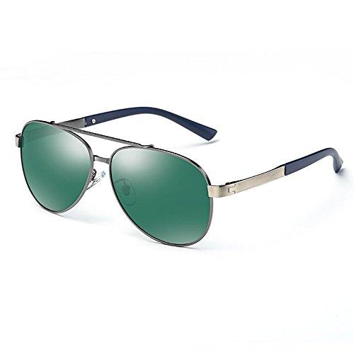 UV400 para de sol sombrillas Gafas Gafas sol A Gafas polarizadas Color de sol de sol de Gafas sol para conducir de SSSX hombre Protección 100 C Aviator Gafas SYHtw