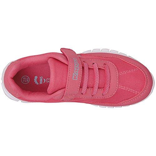 Kappa Mädchen Follow Kids Sneaker, Pink (2737 L´Pink/Mint), 25 EU
