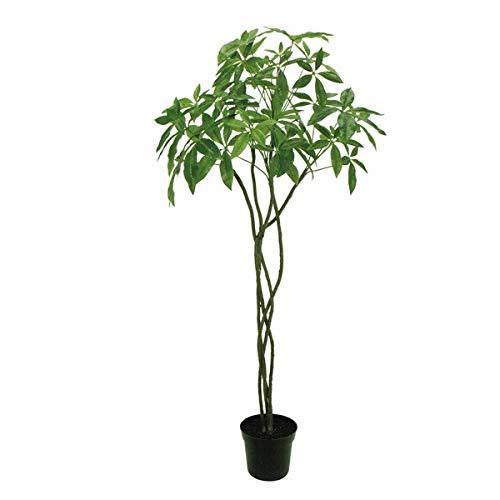 人工観葉植物 バキラ5F 高さ150cm fg23000 (代引き不可) インテリアグリーン 造花 B07SYX189X