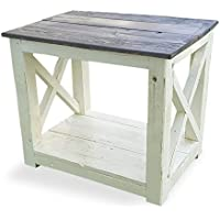 Reclaimed That Wood Side Table/Nightstand, Handmade from 100% Solid Wood