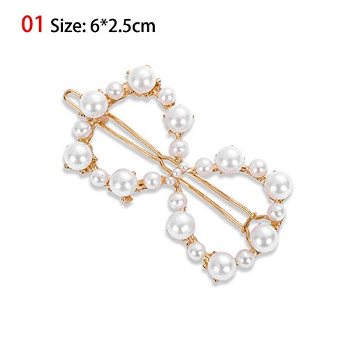 2019 Fashion 1PC Women Leaf Feather Hair Clip Ornament Party Decoration Hair Accessories,L-01 Style