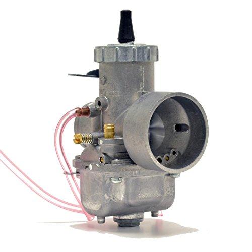 Genuine Real Mikuni 36mm Round Slide High Performance Carburetor Carb VM36-4 by Niche Cycle Supply