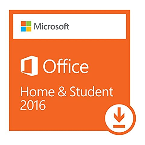 Microsoft Office Home and Student 2016 | 1 user, PC Download - Office