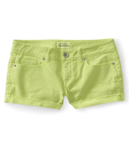 Aeropostale Womens Striped Shorty Shorts