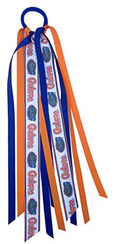 Divine Creations NCAA Florida Gators Girls ES1-Flflorida Fan Tails, Royal, One Size (Florida Gator Youth Jersey)