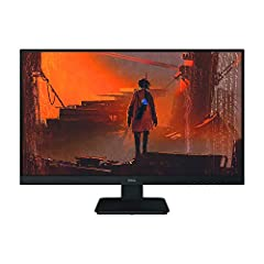 Get a great viewing experience at a superb value with the stylish Dell 27monitor. this 27-inch monitor offers full HD 1920 x 1080 resolution, 144Hz refresh rate and fast response time of 2ms (Fast). your entertainment and gaming needs. flat s...
